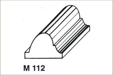 Profili in legno per mobili – Pannelli termoisolanti